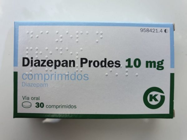 15 Diazepam tablets